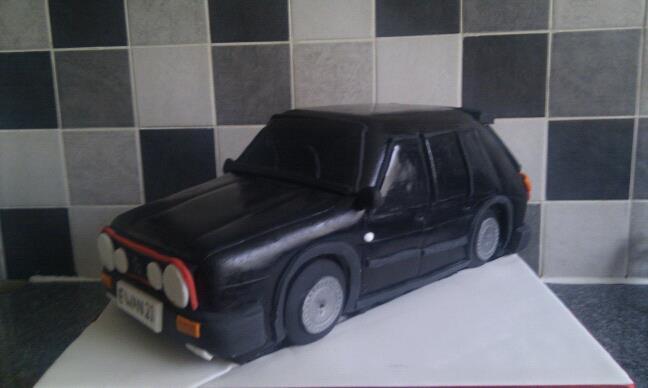 Sam S Cakes Vw Golf Mk1 Cake