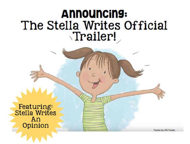 View the Official Stella Writes Book Trailer Featuring Stella Writes An Opinion
