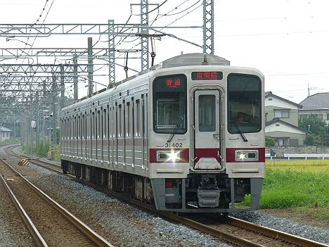 東武日光線 普通 南栗橋行き8 30000系