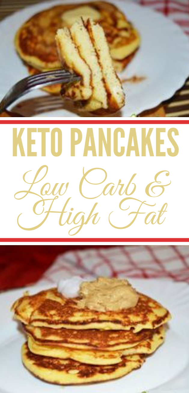 The best Keto Pancakes #healthy #recipe