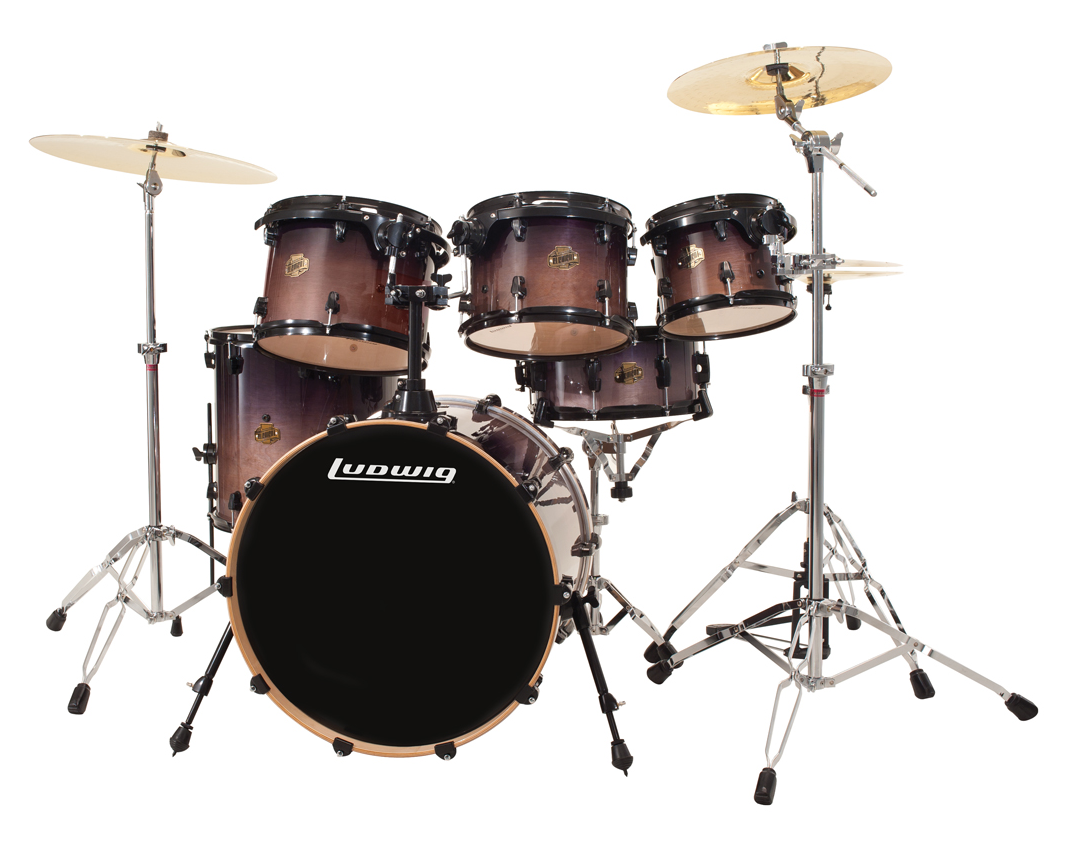 ludwig element series review find your drum set drum kits gear percussion. Black Bedroom Furniture Sets. Home Design Ideas