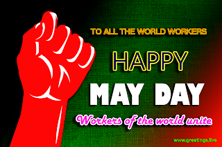 Happy May Day High Quality Greetings