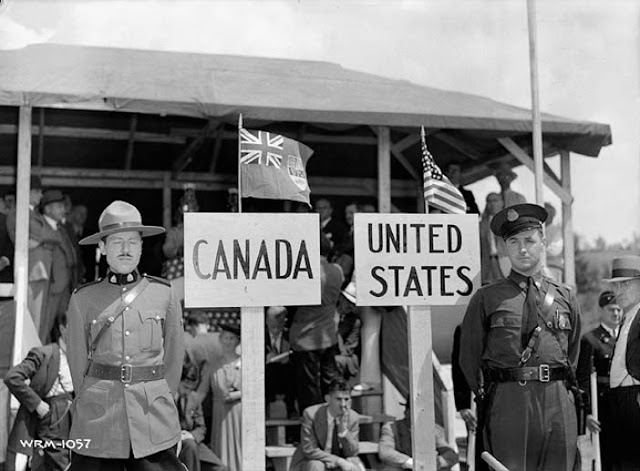 Royal Canadian Mounted Police and Vermont State Police, 1 August 1941 worldwartwo.filminspector.com