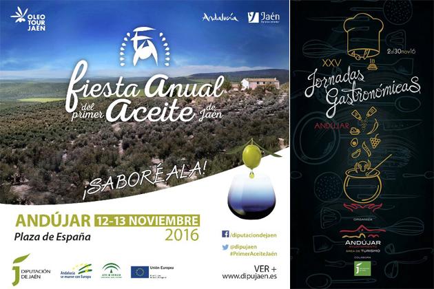 III Fiesta del Primer Aceite de Jaén y XXV Jornadas Gastronómicas en Andújar