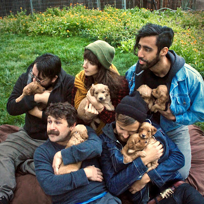 "Denver 5 piece indie post punk outfit Knuckle Pups and the forever dreamy ""Bottom Baby"""