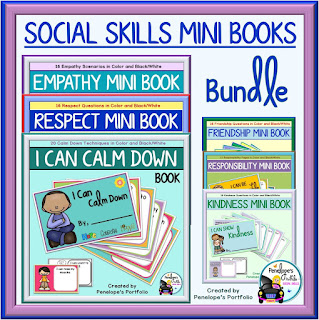 Social Skills Mini Books Bundle