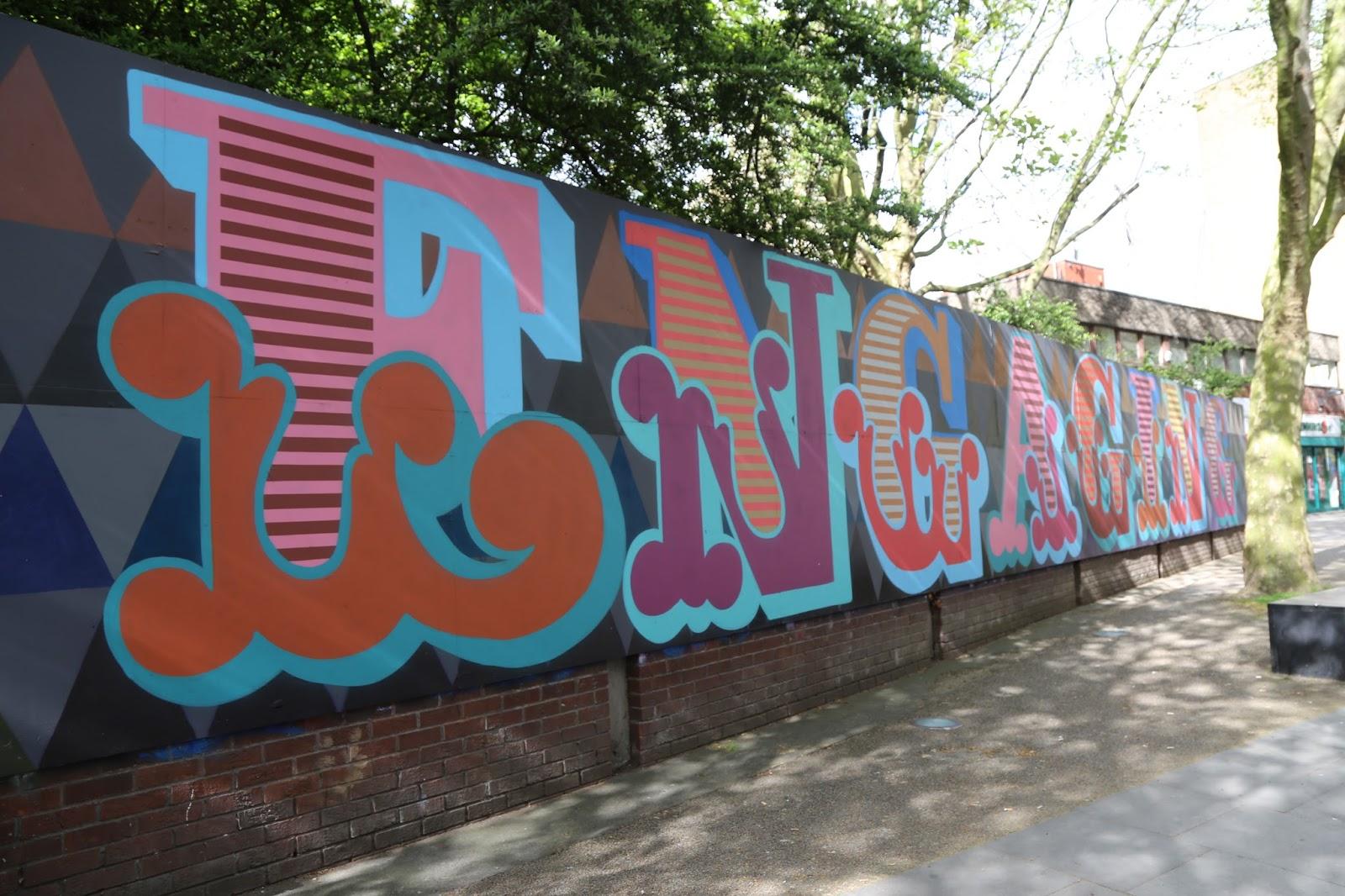 Brilliant Street Art Strassenkunst Graffiti Wandmalerei