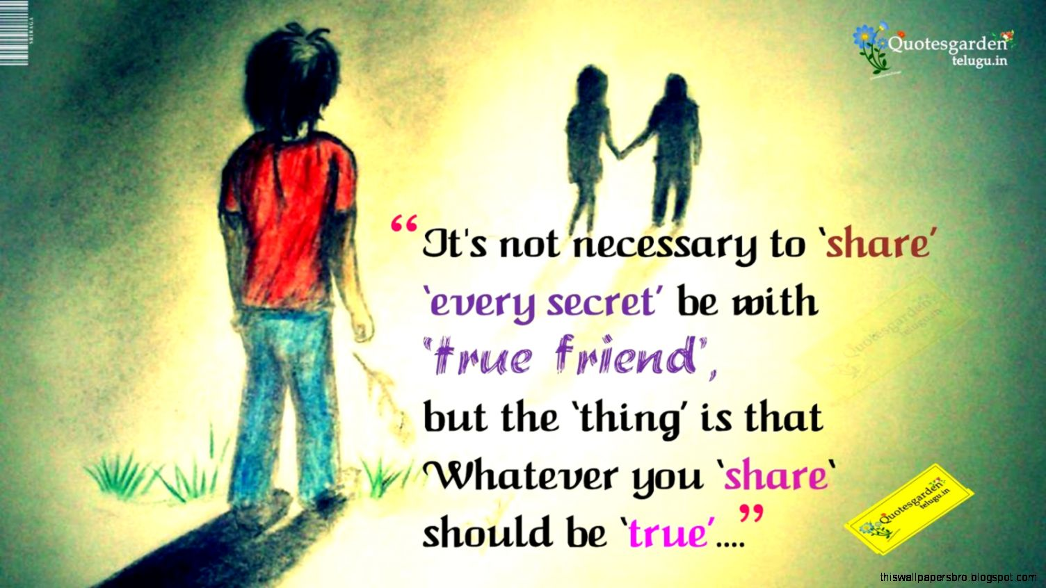 Heart Touching Friendship Quotes This Wallpapers
