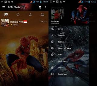 BBM MOD Spiderman V2.12.0.9 Apk