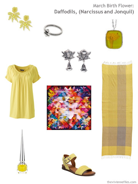accessories in the mood of daffodils