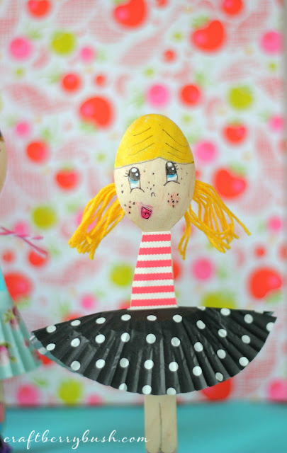 Fashion Wooden Spoon Dolls By Craftberry Bush