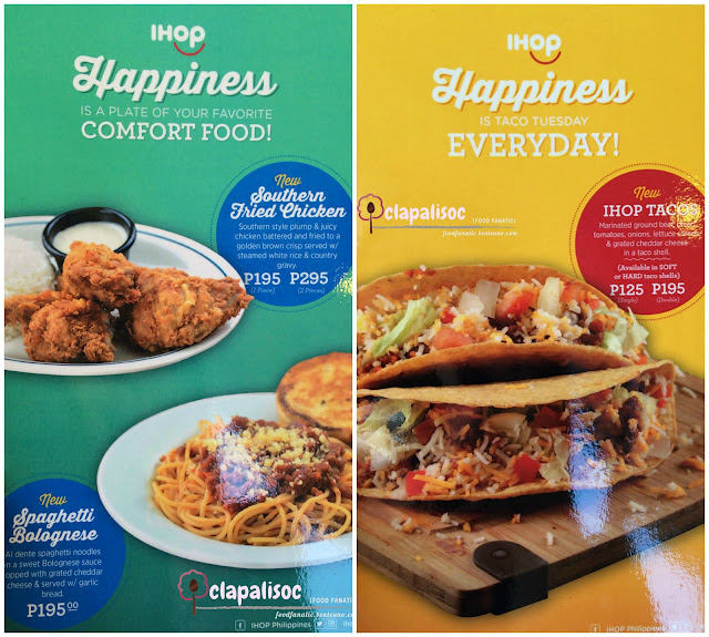 IHOP Philippines Comfort Food Favorites