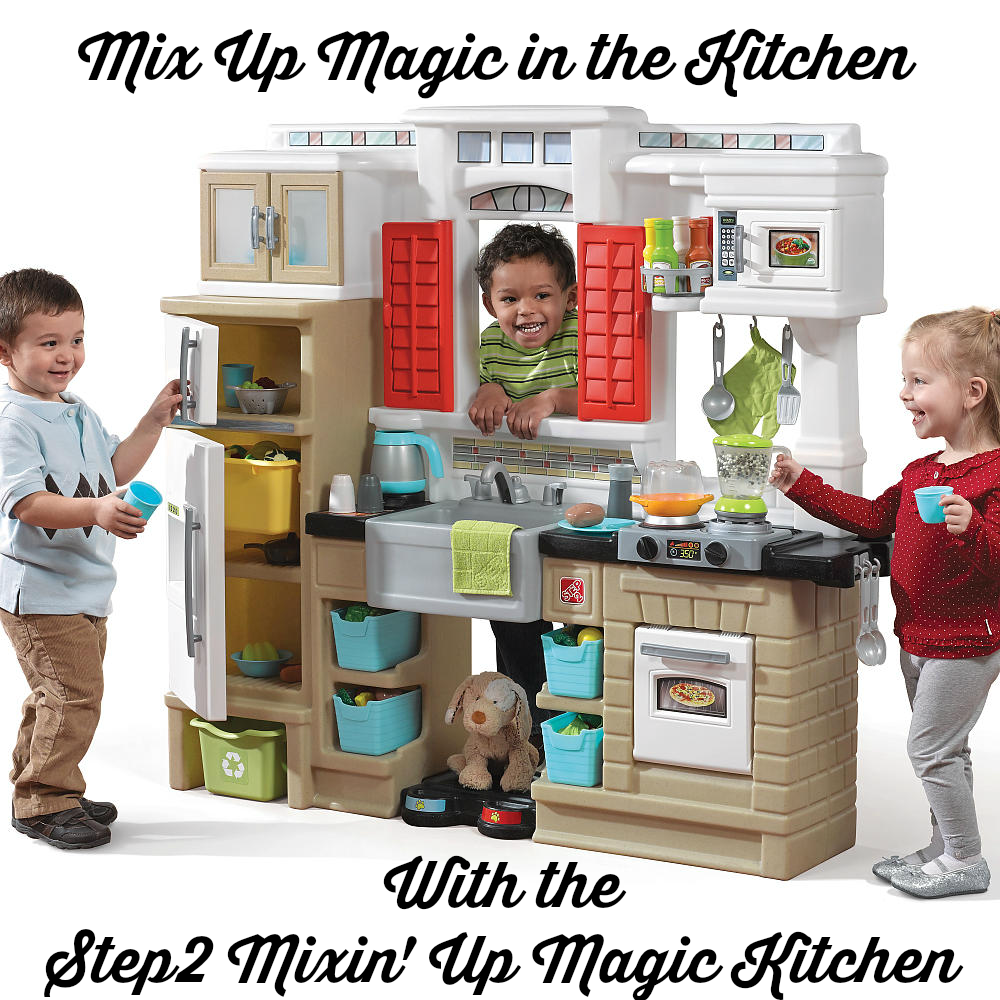mix up magic in the kitchen with the step2 mixin up magic kitchen - Step2 Kitchen