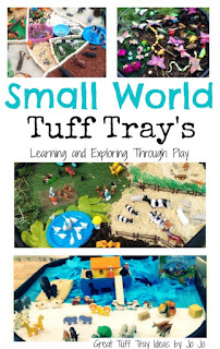Small World Tuff Trays - Early Years - Learning and Exploring Through Play
