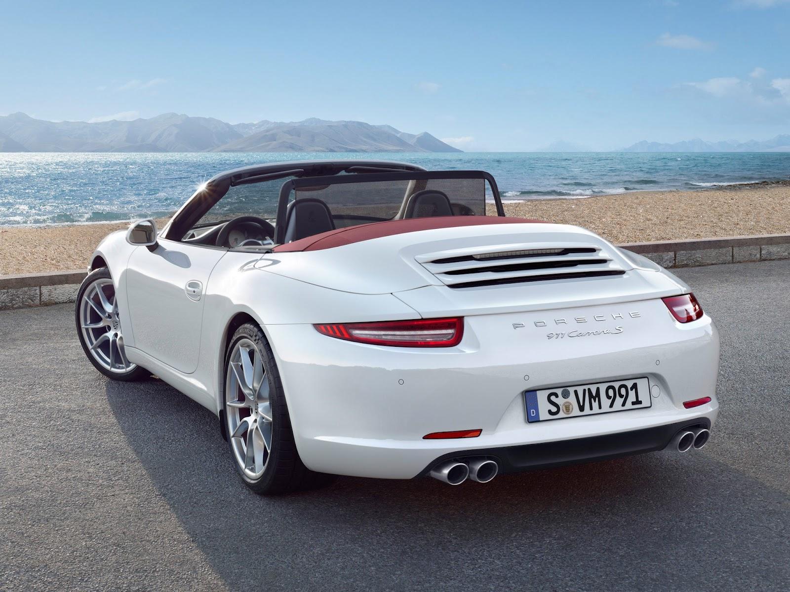 2016 Porsche 911 Carrera Gts 4 Cabriolet Wallpapers For