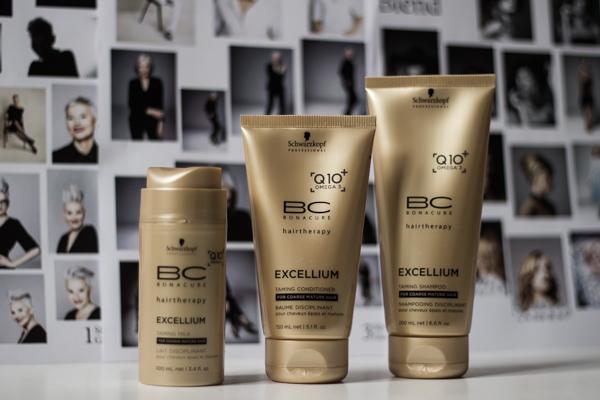 bc exellium silottava shampoo hoitoaine tehohoito_