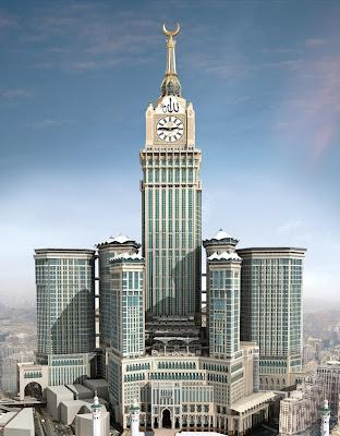 Makkah Royal Clock Tower Hotel Mecca Saudi Arabia