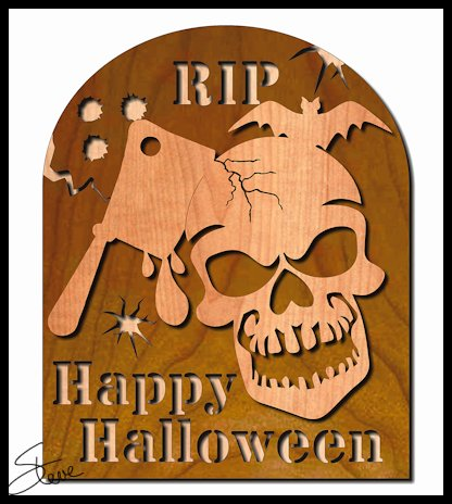 Scrollsaw Workshop: 68 Days until Halloween. Tombstone Halloween ...