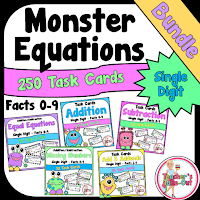 Monster Bundle of Addition and Subtraction Facts