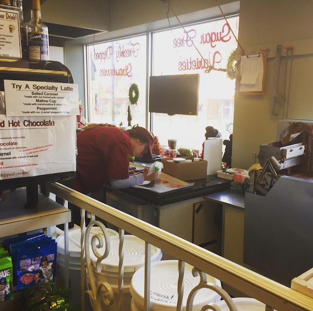 Candy designer at Swiss Maid Fudge in Wisconsin Dells