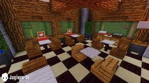 Minecraft Kitchen Design-Square Floor