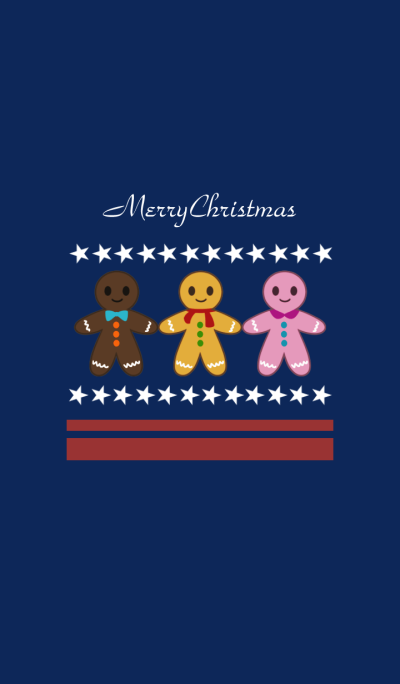 Christmas Ginger Man Cookies
