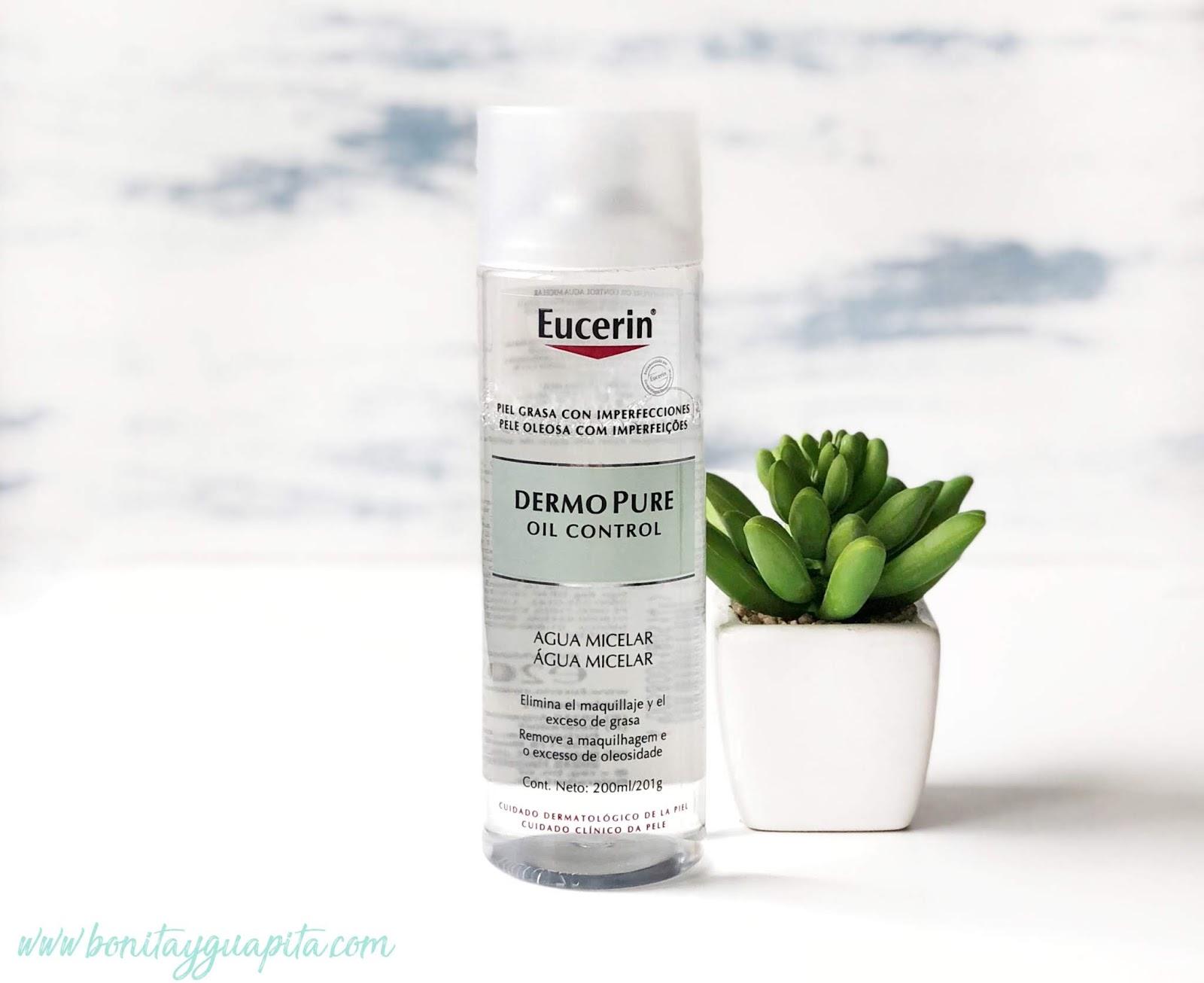 agua micelar dermopure eucerin acne