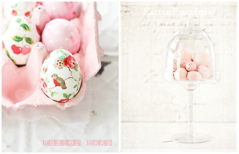 pastelowe wielkanocne jajeczka