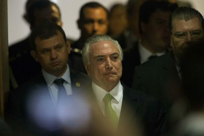 Temer tiene hasta viernes para responder a la Policía Federal sobre asuntos corrupción