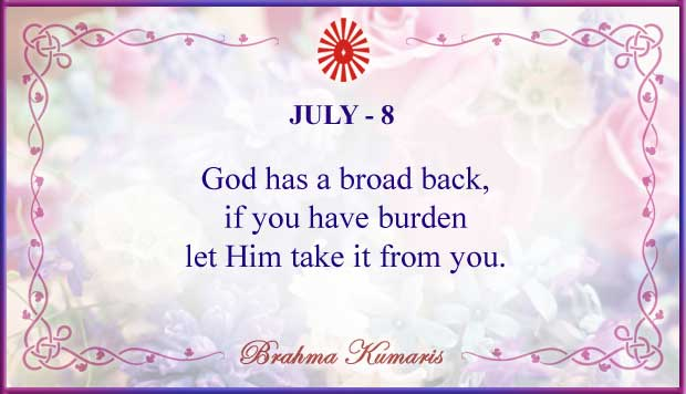 Thought For The Day July 8