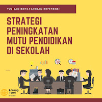 Strategi Peningkatan Mutu Pendidikan di Sekolah
