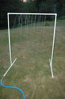 parque de agua DIY ducha para jardin con tubos de PVC