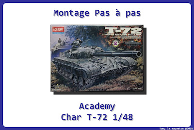 Montage T-72 Academy 1/48