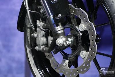 Cakram depan mounting radial