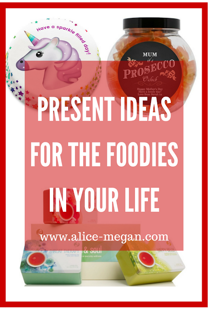 Present ideas for foodies