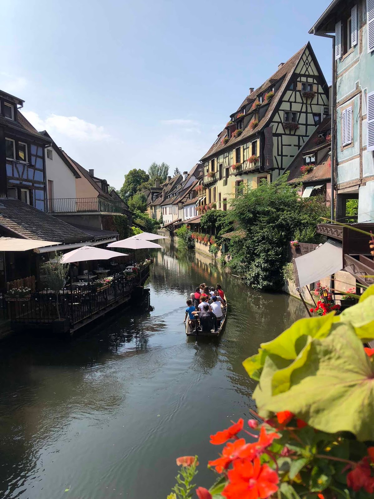 Colmar France Little Venice Ranska