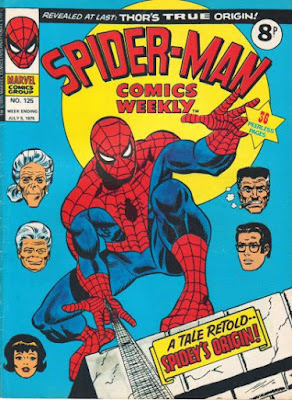 Spider-Man Comics Weekly #125