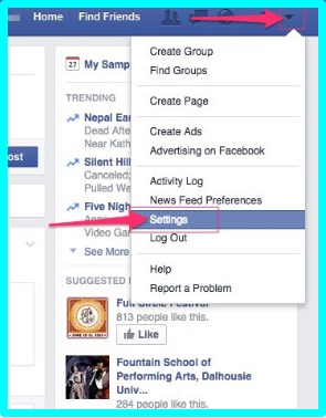 how to change privacy settings on facebook