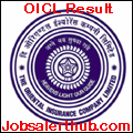 OICL Result