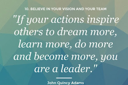 Ciptakan Aksi untuk Memberi Inspirasi