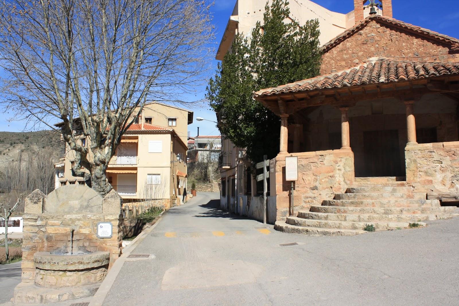 Ermita de San Roque, Arcos de las Salinas, Teruel