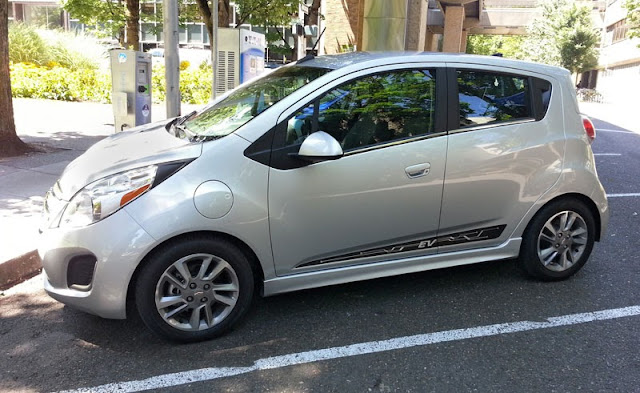 2014 Chevrolet Spark EV at Electric Avenue in Portland, OR