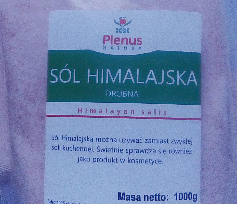 Sól himalajska | Plenus natura