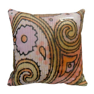 Indian home decor accent throw pillow