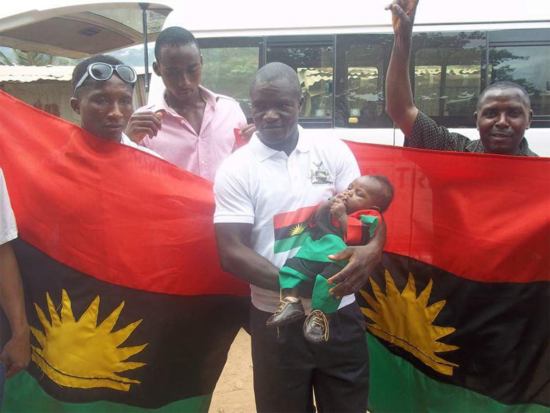 """Biafran Baby Boy"" dedicated in Enugu church"