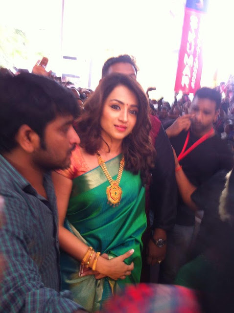 Actress Trisha at S KUMAR Jewellery Inauguration Photos