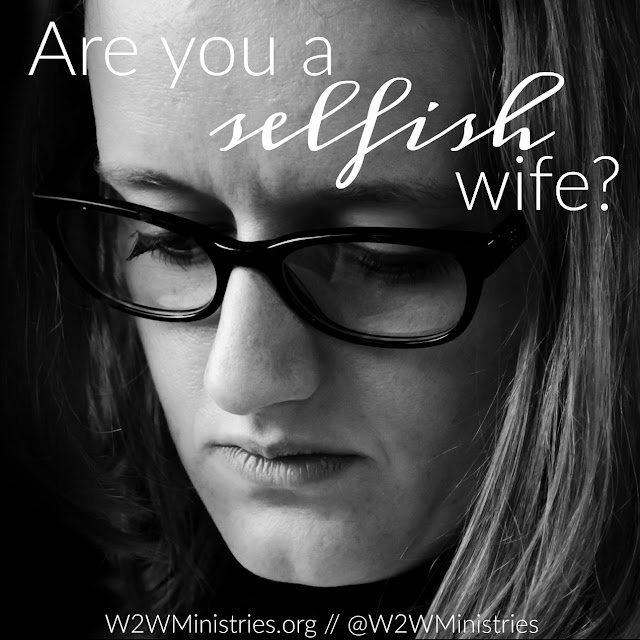 Are you a selfish wife? #marriage #marriagemonday #wife #wifey #selfish