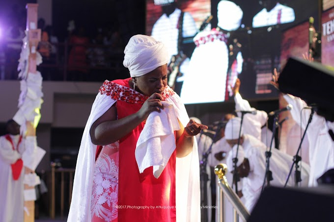 Thousands worship with Ohemaa Mercy at Tehillah Experience 2017
