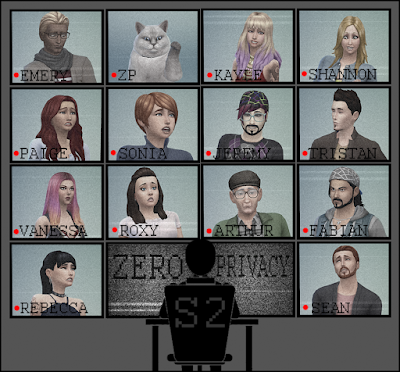 ZERO PRIVACY: SEASON 2: A SIMS 4 INTERACTIVE GAME SHOW