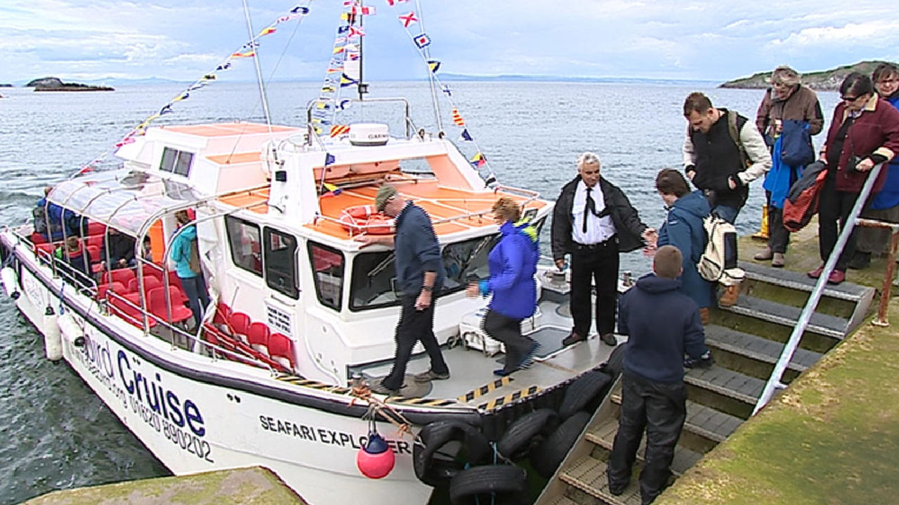 Boat Trips with the Scottish Seabird Centre